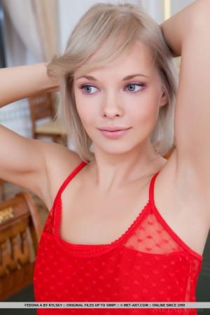 Cute Blonde Babe Feeona A in Nirmata By Rylsky