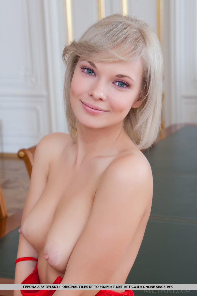Cute Blonde Babe Feeona A in Nirmata By Rylsky