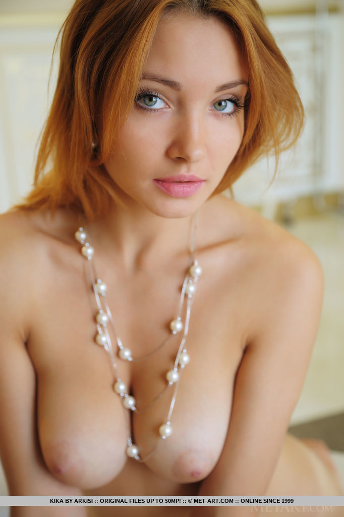 Cute Redhead Babe Kika in Nyphe By Arkisi