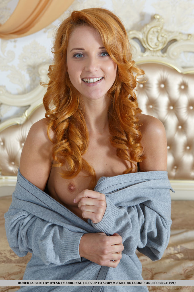 Cute Redhead Babe Roberta Berti in Jedio By Rylsky