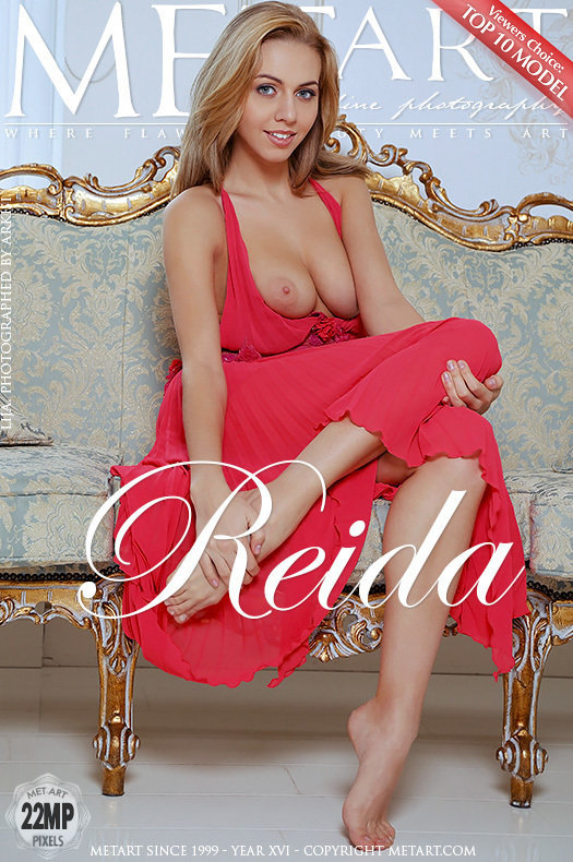 Cute Blonde Babe Lija	in Reida By Arkisi