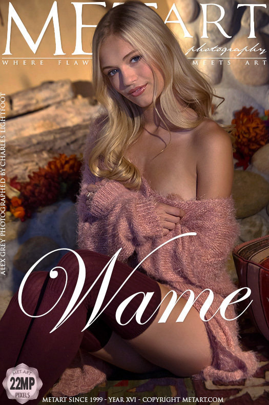 Cute Babe Alex Grey in Wame by Charles Lightfoot