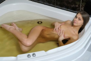 Cute Babe Kristel A in Wet Pussy